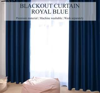 BLACKOUT CURTAIN 2PC