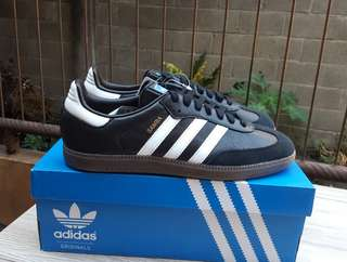 Adidas Samba OG Leather black white gum sole BNIB original