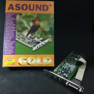 ASOUND Sound Card. New, never used