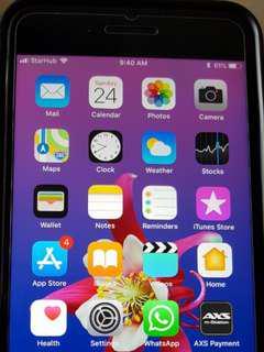 I phone 7 plus 256gb brand new with warranty