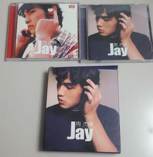 Jay Music CD + VCD (comes in a box)