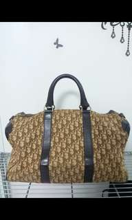 dior vintage duffel bag/ travel bag 絕版 旅行袋