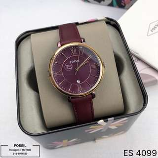 Fossil Watch Leather Ladies ES4099