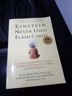 🚚 Einstein never used flash cards