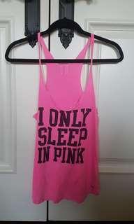 PINK pajama top