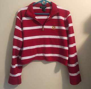 Vintage cropped ralph lauren sweater