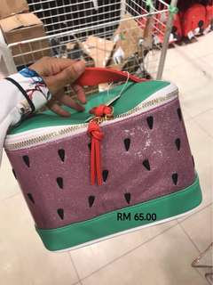 PRIMARK WATERMELON MAKEUP BAG