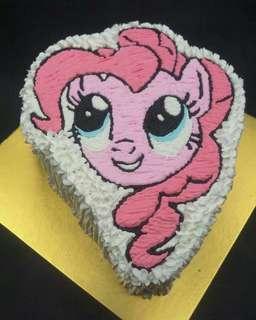 Pony 彩虹小馬蛋糕一磅
