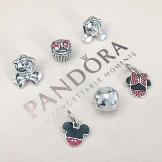 Authentic Disney Pandora Charms (Mickey & Minnie theme)