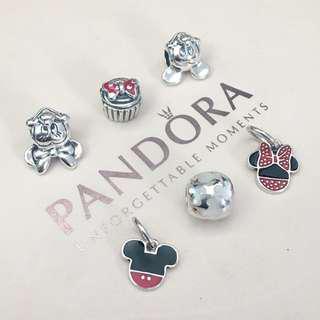 Authentic Disney Pandora Charms (Mickey & Minnie theme)