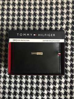 Authentic Tommy Hilfiger Black Wallet