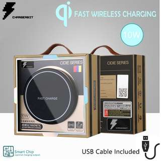 FAST WIRELESS CAR PHONE CHARGER/HOLDER, iPHONE/SAMSUNG SALE ◈ CHARGEBIT ◈ RRP 54.99 ◈