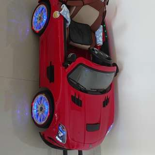 Kids Electric Toy Car w light and Music Mercedes