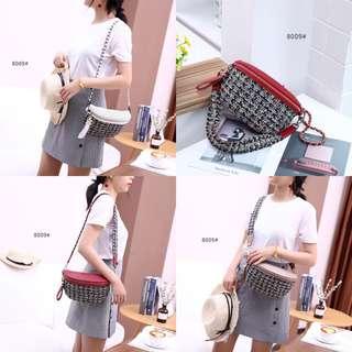 Chanel Tweed Multifunction Bag 8009