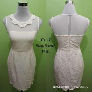 Preloved White Dress