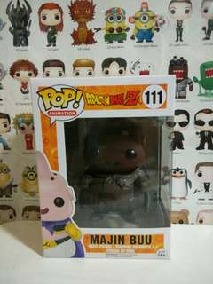 Funko Pop Majin Buu Chocolate Exclusive Vinyl Figure Collectible Toy Gift Comic DragonBall Z Animation Cartoon