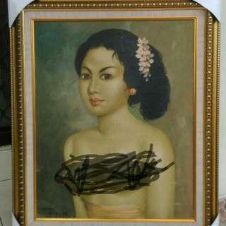 Lukisan Bali Dewasa