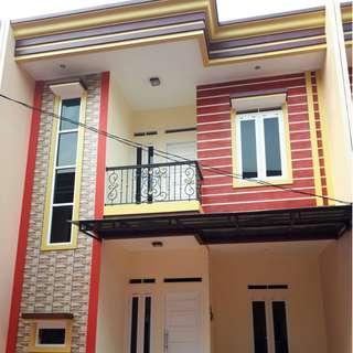 Rumah Cluster 2 Lantai Strategis Jatibening Bekasi