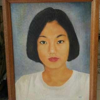 Lukisan Artis Hongkong Jadul