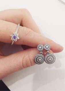 Pandora Dangle Earrings