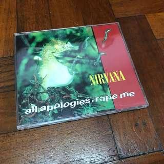 Nirvana - All Apologies cd single