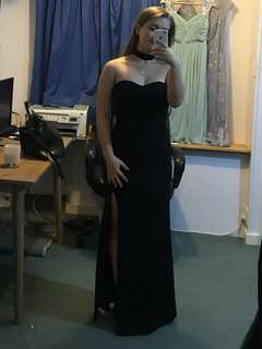 Black ball dress for rent