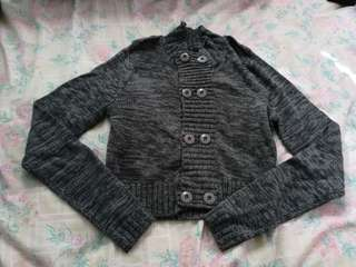 Button up knitwear