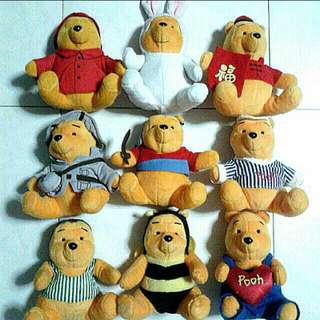 Winnie The Pooh Soft Toys Collectibles