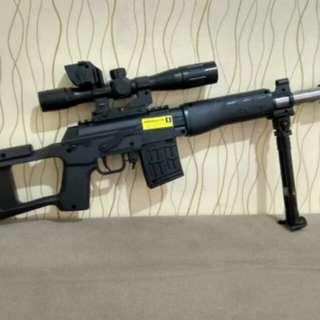 SNIPER MAINAN PREMIUM SVS M-806 LASER DAN KEKER COBRA MP900 MP3