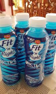 Fit 'n Right Active Isotonic Drink (Blueberry Grape)