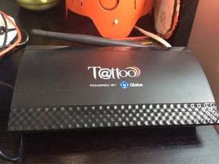 Globe Tattoo modem/router