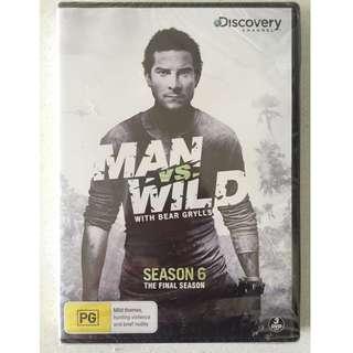 **BRAND NEW SEALED** Man VS Wild Season 6 3-Disc DVD (Final Season)