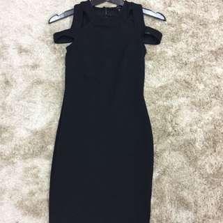 BN Atmosphere Black Dress