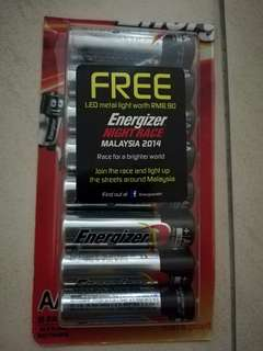 Energizer battery AA