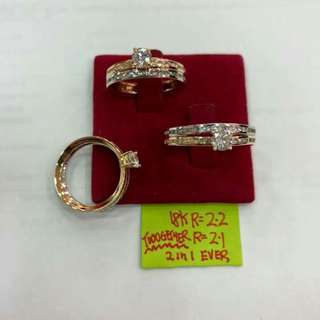 ENGAGEMENT RING 2IN1