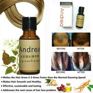 Andrea Hair grower enhancer serrum