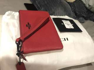 Coach Pouch Red