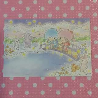 Little twin stars Postcard