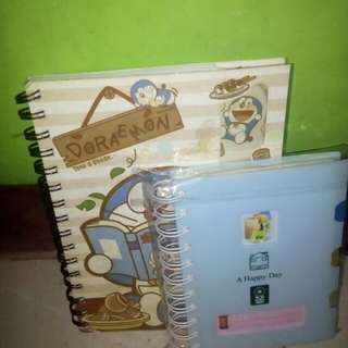 Notebook doraemon and agenda lucu