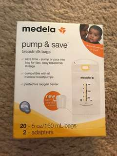 Medela breastmilk bags
