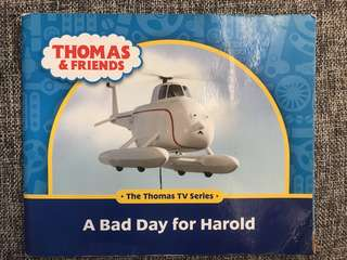 Thomas and friends book A Bad Day for Harold