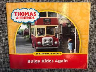 Thomas And Friends book Bulgy Rides Again