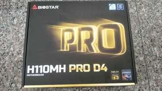 Biostar Intel Motherboard matx