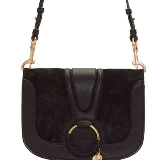 See by Chole Black Small Hana Bag