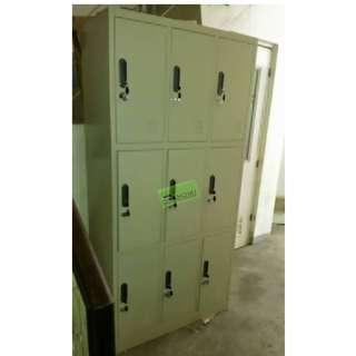 9 DOOR SH LOCKER PADLOCK & KEYLOCK TYPE--KHOMI