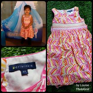 Pre-loved Periwinkle Dress
