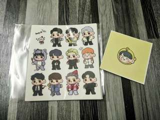 EXO SEHUN STICKER SET