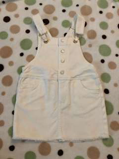 H&M's overall denim can fit 6-2 years
