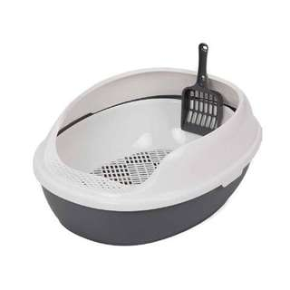 High side cat litter tray