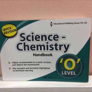 Quick Revision Science Chemistry Handbook